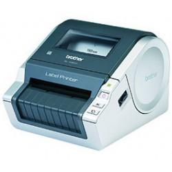 Brother - QL-1060N Térmica directa 300 x 300DPI Gris, Metálico impresora de etiquetas
