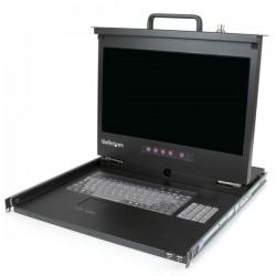 StarTech.com - Consola KVM 1U con hub USB 2.0 y pantalla de 17 Pulgadas 1080p para rack