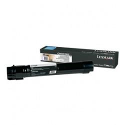 Lexmark - C950X2KG 38000páginas Negro tóner y cartucho láser
