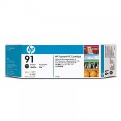 HP - Pack de ahorro de 3 cartuchos 91 negro fotográfico de 775 ml cartucho de tinta