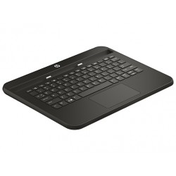 HP - Pro 10 EE G1 Keyboard Base QWERTY Inglés Negro teclado para móvil
