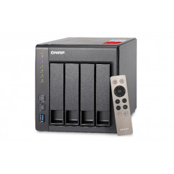 QNAP - TS-451+ J1900 Ethernet Tower Negro NAS