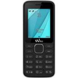 "Wiko - LUBI4 1.77"" 68g Negro, Color blanco Teléfono básico"