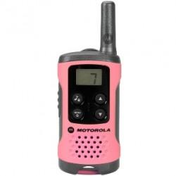 Motorola - TLKR T41 two-way radios 8 canales 446 MHz Rosa