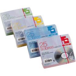 Unipapel - UNP PAQ.25 SOB 125X125 CD/DVDVE 12065
