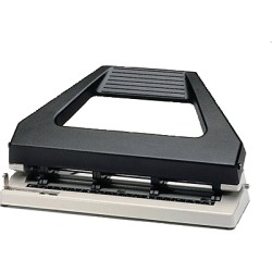 Rexel - Perforadora V430 4 agujeros negra