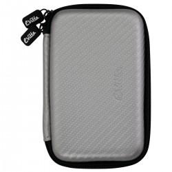 e-Vitta - EVHD000033 funda para disco duro externo Funda de protección Fibra de carbono Plata