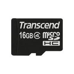 Transcend - TS16GUSDC4 16GB MicroSDHC Clase 4 memoria flash