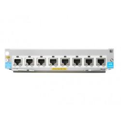 Hewlett Packard Enterprise - 8-port 1G/10GbE SFP+ MACsec v3 zl2 Module módulo conmutador de red 10 Gigabit