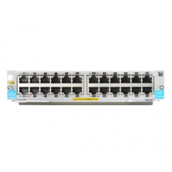 Hewlett Packard Enterprise - 24-port 10/100/1000BASE-T PoE+ MACsec v3 zl2 Module módulo conmutador de red Gigabit Ethernet