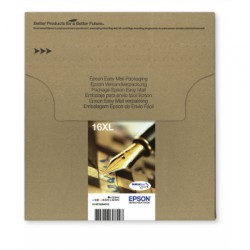 Epson - C13T16364510 32.4ml Cian, Negro, Amarillo tinta de impresión y de dibujo