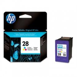 HP - Cartucho de tinta original 28 Tri-color
