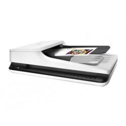 HP - Scanjet Pro 2500 f1 1200 x 1200 DPI Escáner de superficie plana y alimentador automático de documentos (ADF) Negro, Blanco