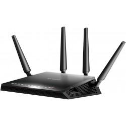 Netgear - X4S AC2600 router inalámbrico Doble banda (2,4 GHz / 5 GHz) Gigabit Ethernet Negro