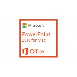 Microsoft - PowerPoint 2016 for Mac, 1u - 18257208