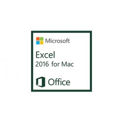 Microsoft - Excel 2016 for Mac, 1u - 18257207
