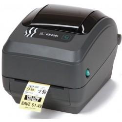 Zebra - GK420d Térmica directa 203 x 203DPI Gris impresora de etiquetas - 2129034