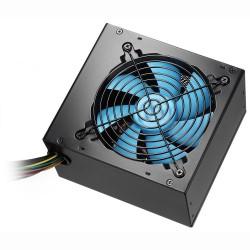 CoolBox - Powerline Black 500 unidad de fuente de alimentación 500 W 20+4 pin ATX ATX Negro