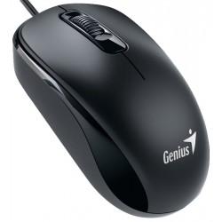 Genius - DX-110 ratón USB Óptico 1000 DPI Negro