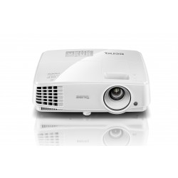 Benq - MS527 Proyector para escritorio 3300lúmenes ANSI DLP SVGA (800x600) 3D Blanco videoproyector