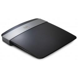 Linksys - E2500 Doble banda (2,4 GHz / 5 GHz) Ethernet rápido Negro router inalámbrico