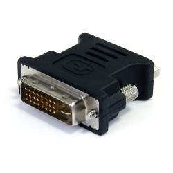StarTech.com - Adaptador Conversor DVI-I a VGA - DVI-I Macho - HD15 Hembra - Negro