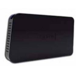 "Approx - appHDD06 2.5"" USB con suministro de corriente Negro"