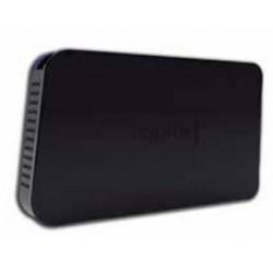 "Approx - appHDD05 2.5"" USB con suministro de corriente Negro"