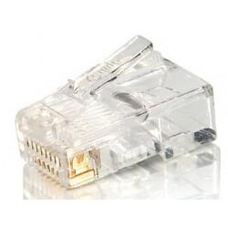 Equip - 121140 conector RJ-45 (8P8C) Transparente