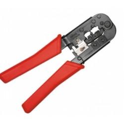 Equip - 129403 crimpadora Herramienta para prensar Gris, Rojo