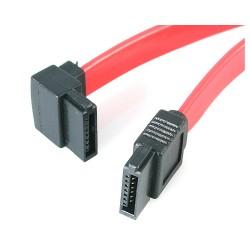 StarTech.com - Cable Serial ATA SATA a SATA Acodado a la Izquierda - 12 pulgadas