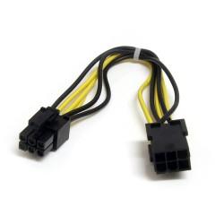 StarTech.com - Cable de Extensión de Alimentación PCI Express de 6 pines - 8 pulgadas