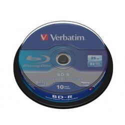 Verbatim - BD-R SL 25GB 6 x 10 Pack Spindle 10 pieza(s)