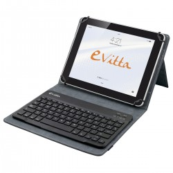 e-Vitta - EVUN000503 teclado para móvil Rojo Español Bluetooth