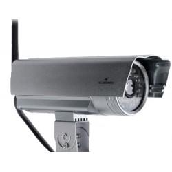 Bluestork - BS-CAM-OF/HD Cámara de seguridad IP Exterior Bala Plata cámara de vigilancia