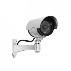 Bluestork - BS-DUMYCAM/O Plata Bala cámara de seguridad ficticia