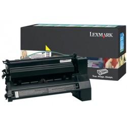 Lexmark - C780, C782 Yellow High Yield Return Program Print Cartridge 10000páginas Amarillo