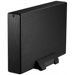 """TooQ - CAJA HDD 3,5"""" SATA A USB 2.0/3.0 NEGRA - TQE-3527B"""