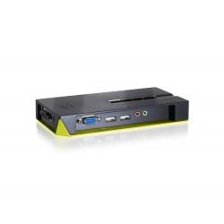 LevelOne - Switch KVM de 4 puertos USB con Audio