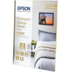 Epson - Premium Glossy Photo Paper - A4 - 15 Hojas