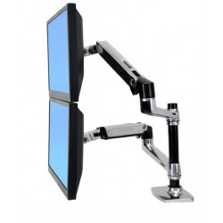 Ergotron - LX Series Dual Stacking Arm