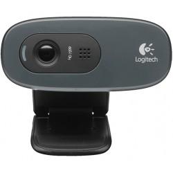 Logitech - C270 cámara web 3 MP 1280 x 720 Pixeles USB 2.0 Negro