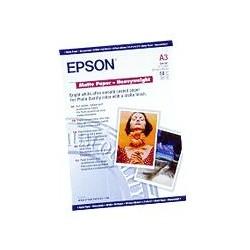 Epson - Matte Paper Heavy Weight, DIN A3, 167 g/m², 50 hojas