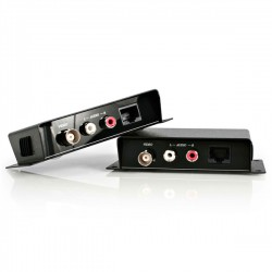 StarTech.com - Extensor de Vídeo Compuesto y Audio RCA por cable cat5 UTP Ethernet - Extender