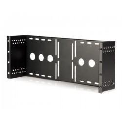 """StarTech.com - Bracket Soporte Montura para Monitores VESA LCD en Rack Armario de 19"""" Pulgadas"""