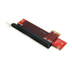 StarTech.com - Adaptador para Ranura de Extensión PCI Express x1 a x16 de Perfil Bajo