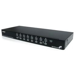 StarTech.com - Conmutador Switch KVM 1U OSD y Cables 16 puertos USB A Vídeo VGA HD15