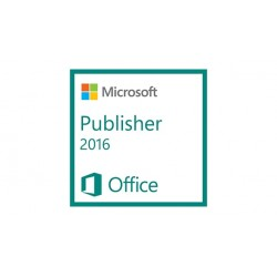 Microsoft - Publisher 2016, 1u, NL