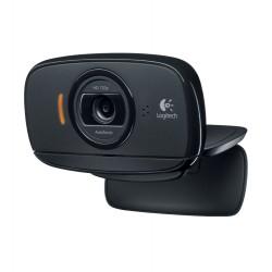 Logitech - B525 HD cámara web 2 MP 1280 x 720 Pixeles USB 2.0 Negro