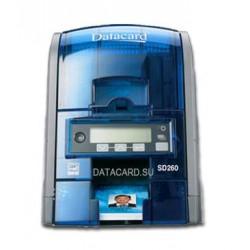 DataCard - SD260 Color Azul, Gris impresora de tarjeta plástica